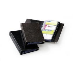 Visifix album z mechanizmen ringowym na wizytówki 200 57x90mm Durable