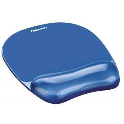 Podkładka pod mysz i nadgarestek CRYSTAL - niebieska