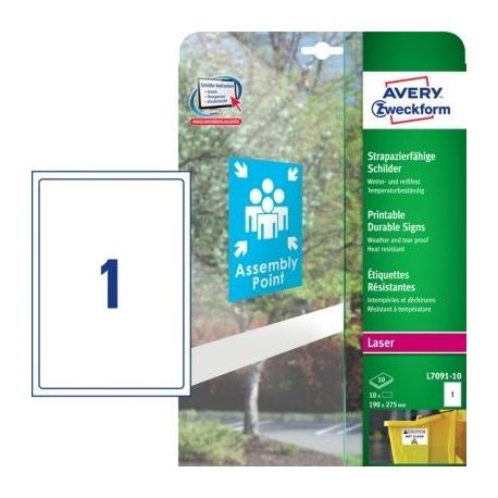 Trwałe znaki  Avery Zweckform