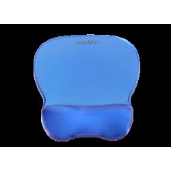 Podkładka żelowa pod mysz i nadgarstek C-Look niebieski ErgoSafe