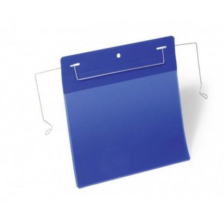 Kieszeń magazynowa z uchwytami z drutu A5 pozioma Durable