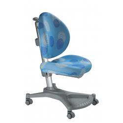 Ergonomiczne krzesło rosnące z dzieckiem niebieskie kółka MyPony Mayer